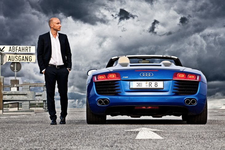 Business – Portrait mit Audi R8