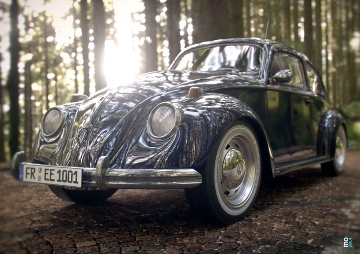 VW Käfer Visualsierung 01