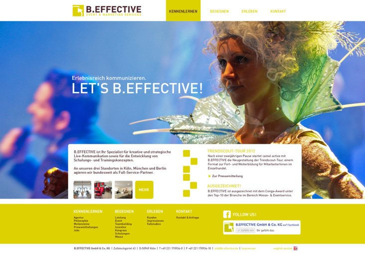 B.Effective – Eventagentur
