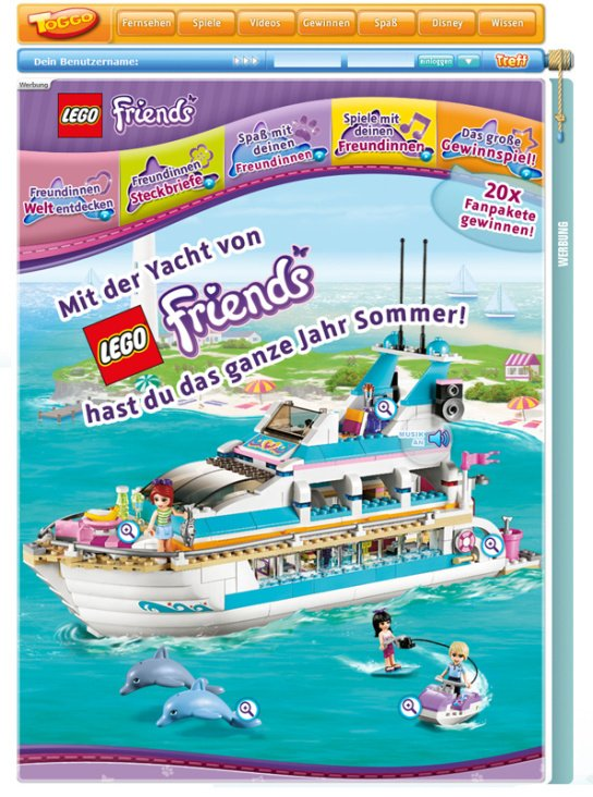 "SuperRTL Toggo ""LEGO Friends"""