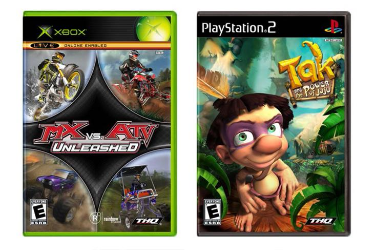 Videogame packaging — THQ