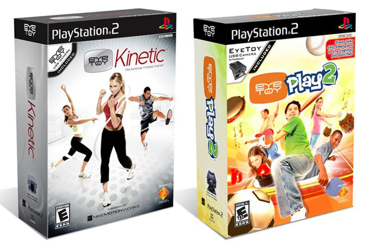 Videogame packaging PlayStation2 EyeToy