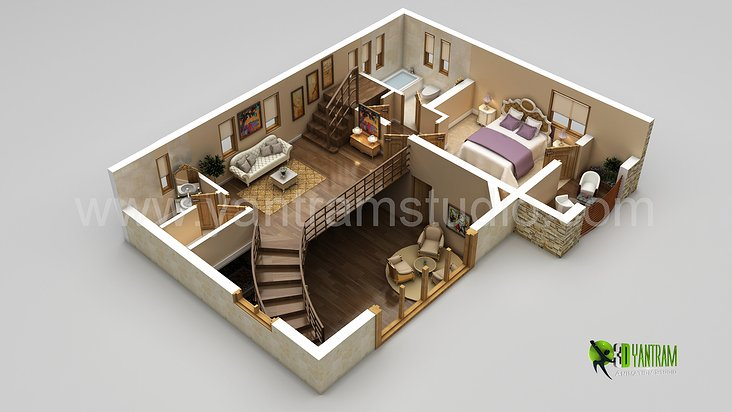 3d Grundriss Design Interaktive 3d Grundriss Von: 3d house design drawings