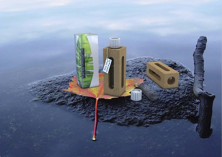 Massage-Öl Packaging