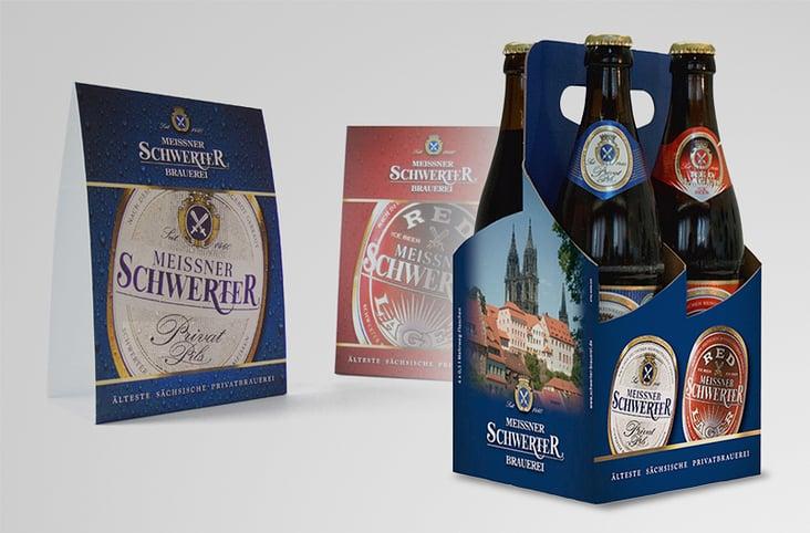 4er Tray– Meissner Schwerter Brauerei