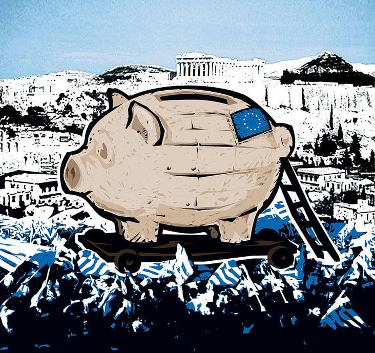 Trojanisches Sparschwein / trojan piggy bank