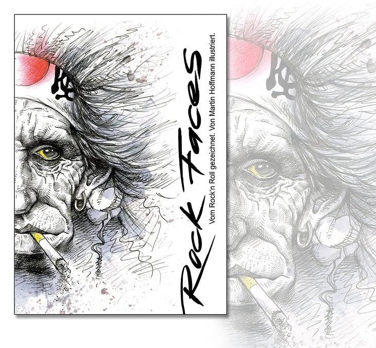 CoverDesign/Illustration RockFaces