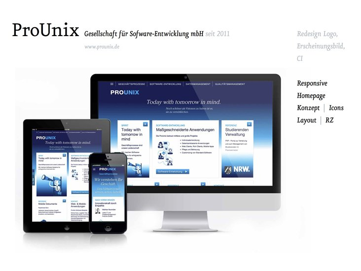 ProUnix Softwareentwicklung GmbH – Corporate Design