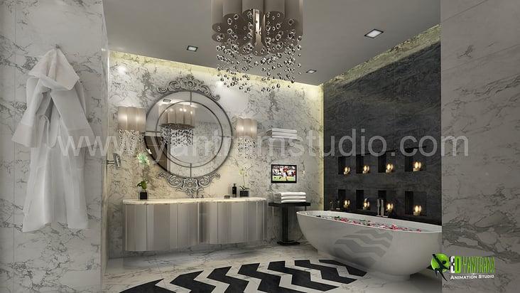 Yantram 3d interior rendering studio von yantram studio for Bathroom design 3d free download