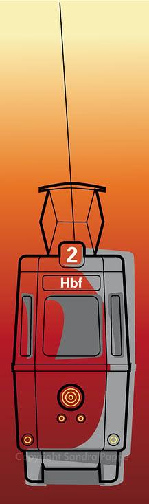 Stadt Teilobjekt Tram Variante 1