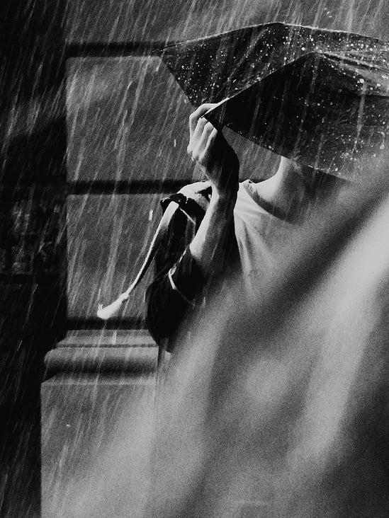 O o es regnet