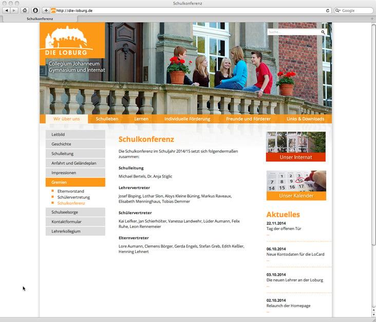 Internat/Gymnasium
