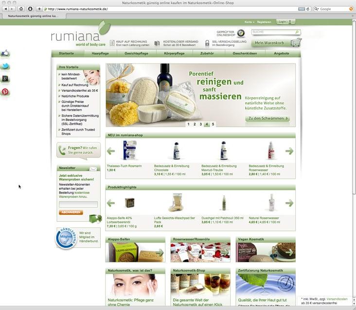Naturkosmetik (Webshop)