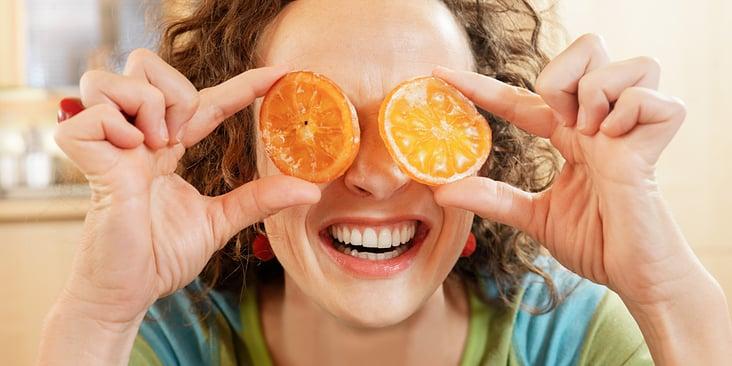 Die Frau mit den Orangen
