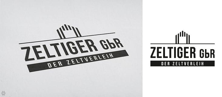 Logo für den Zeltverleih ZelTiger GbR