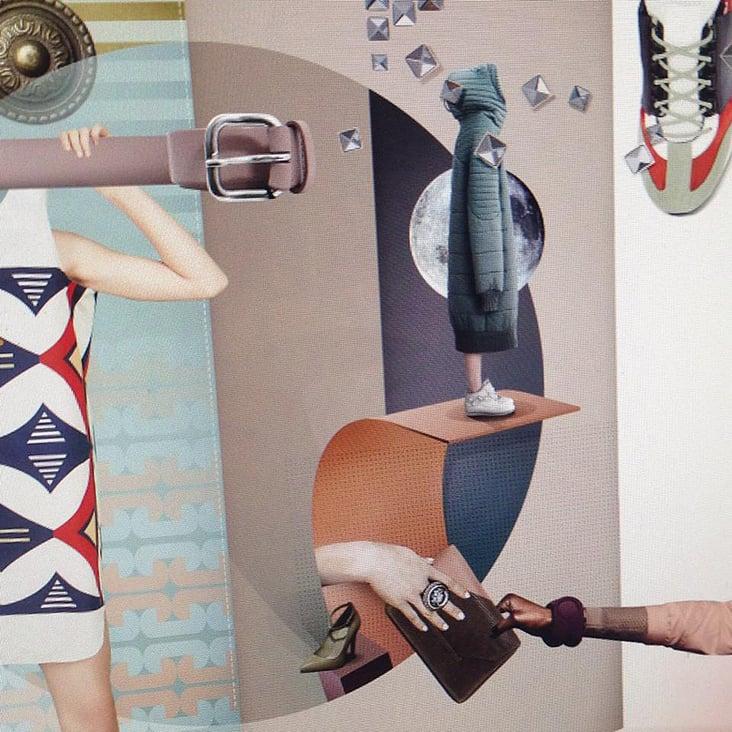 "Detail Collage ""Style-Award"" for german fashion magazine"