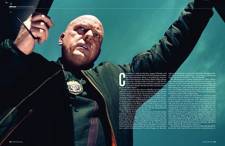 """Breaking Bad"", Bericht und Interview, TV-Heft 2014"