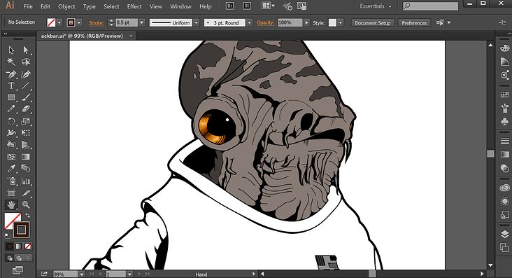 Star Wars: Admiral Ackbar—Screen Shot 2