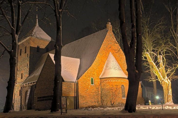 die alte Feldsteinkirche
