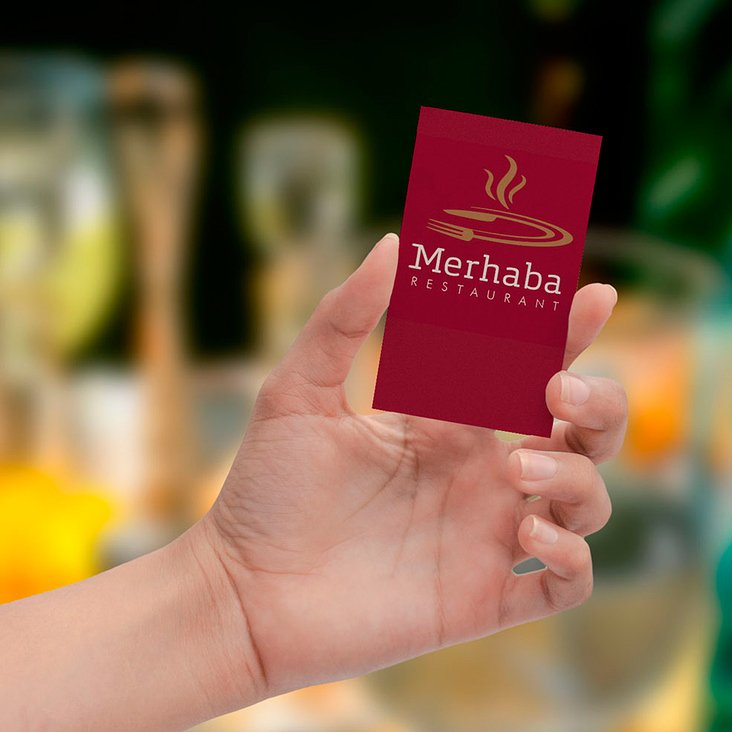 Restaurant Merhaba 2014, Logoentwicklung, Corporate Design