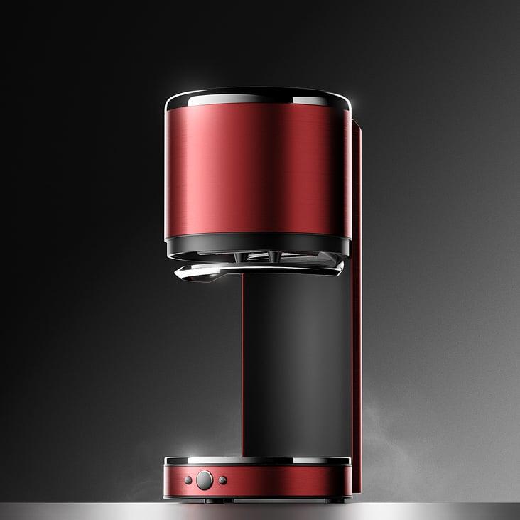 3D Rendering Kaffeemaschine