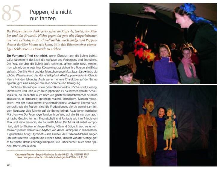 """Text aus """"99 x Köln wie Sie es noch nicht kennen"""", erschienen 2014 im Bruckmann-Verlag"""