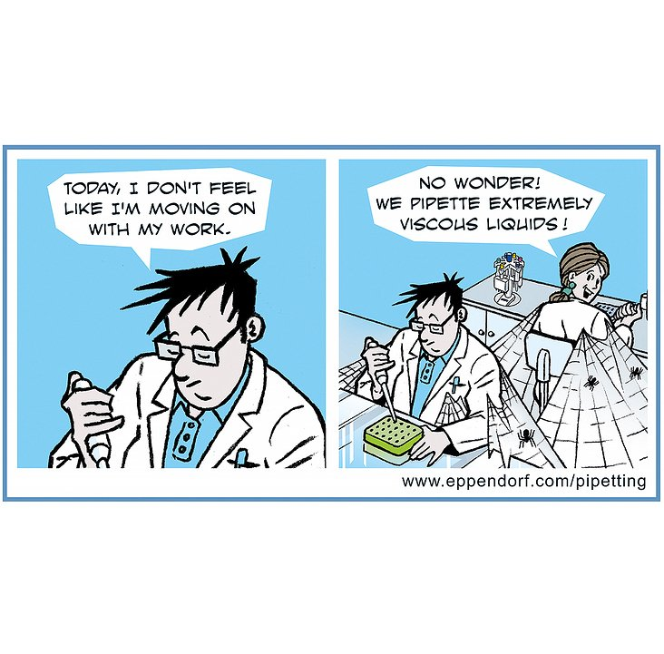 Comicstrips im Cartoon-Stil für die Eppendorf AG