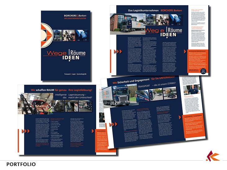 BROSCHÜRE 1.1 | Konzept in Gestaltung + inhaltlicher Struktur, Corporate Design, Textkreation, Entwurf, Layout bis Druckvorlage