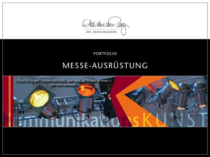 Portfolio Messe-Ausrüstung