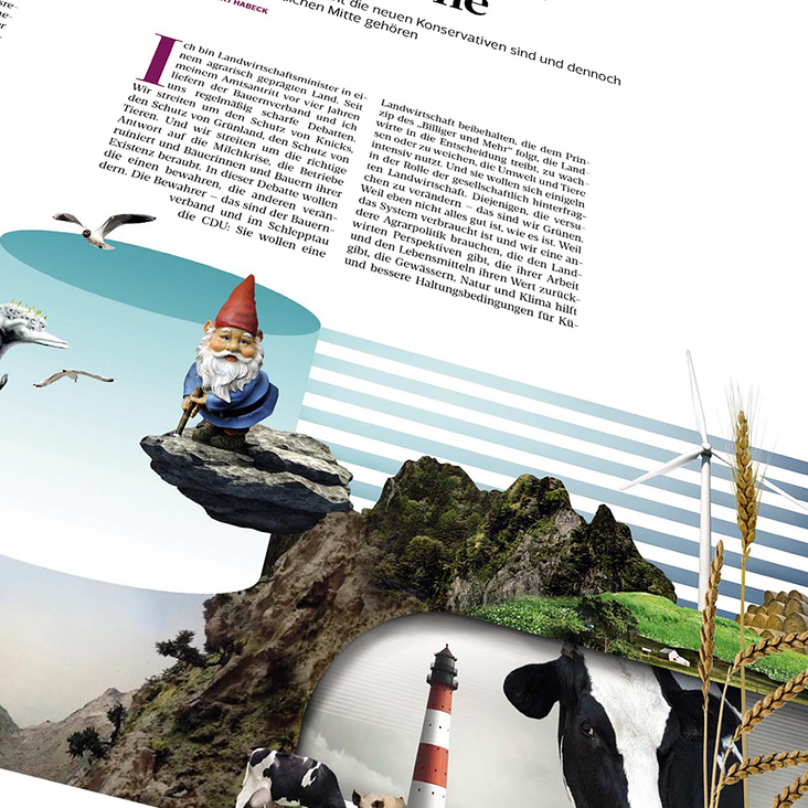 ZWERG, Editorial Collage Work