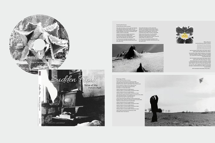 CD Cover und Booklet