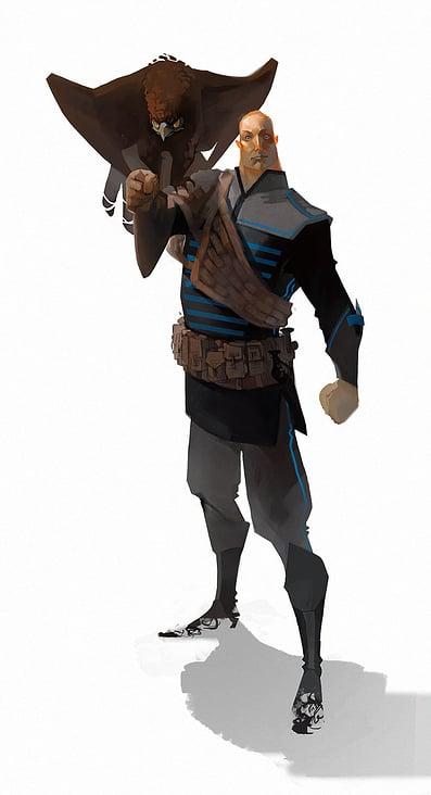 Nacre: Jeroen de Rijk revised character concept