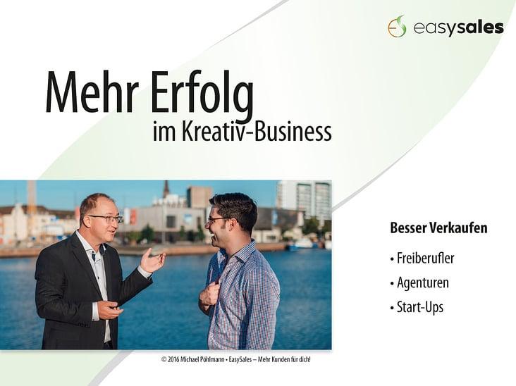 Mehr Erfolg im Kreativ-Business