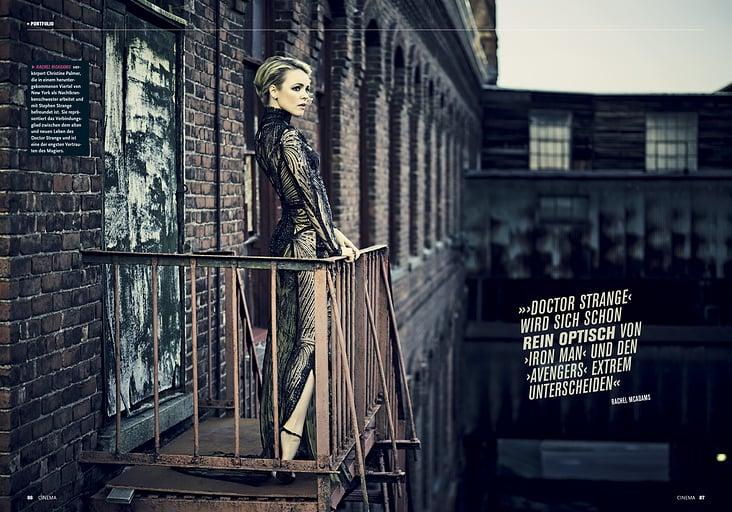 "Portfolio ""Dr Strange"", Heft 11/2016"