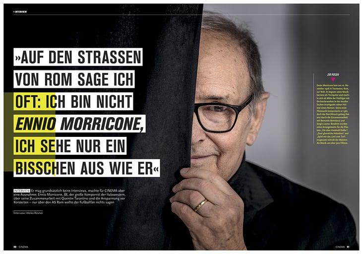 Porträt Ennio Morricone, Heft 11/2016