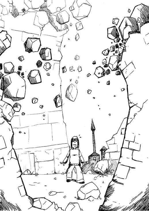 "Illustration ""Ruins"""