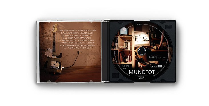 Albumdesign / Inlaycard / CD Aufdruck