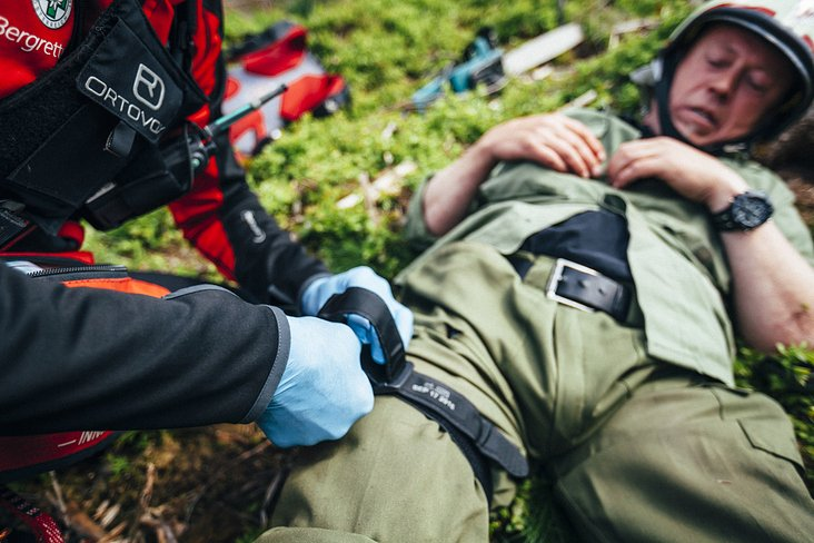 a day with Mountain Rescue Innsbruck