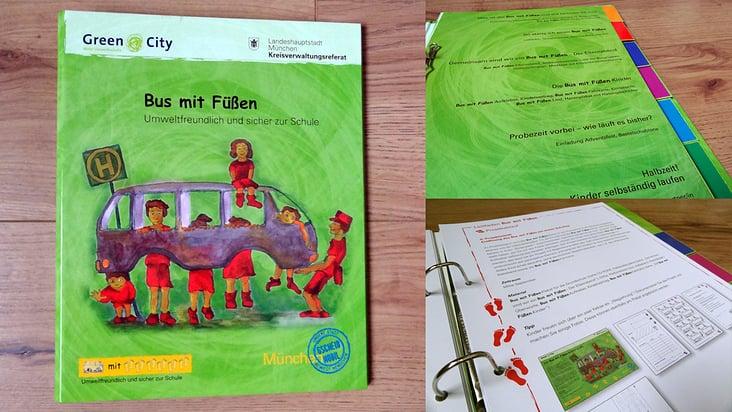 Handbuch Bus mit Füßen