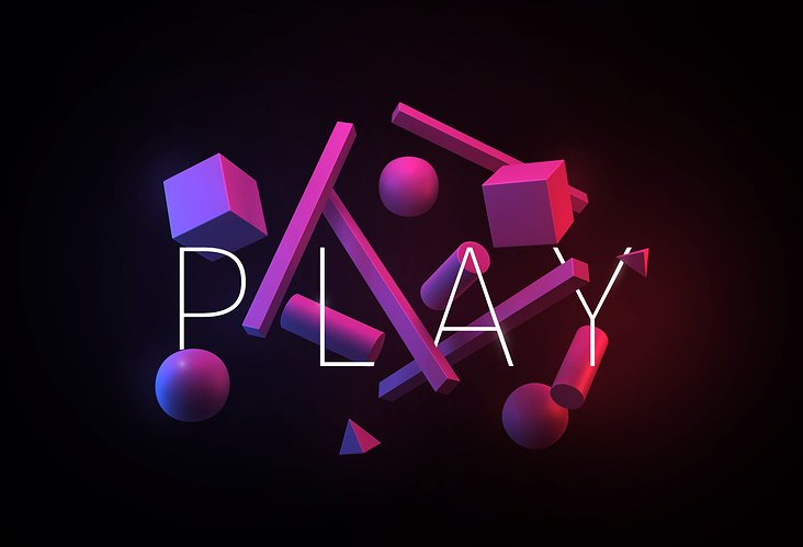 Play with shapes – titel
