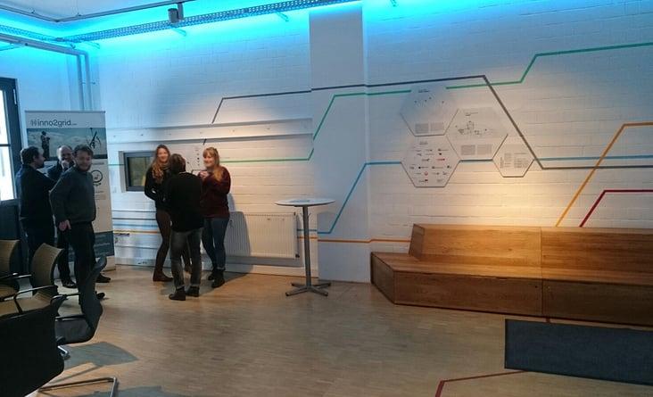 Inno2grid showroom von luisa nossmann dasauge for Raumgestaltung berlin