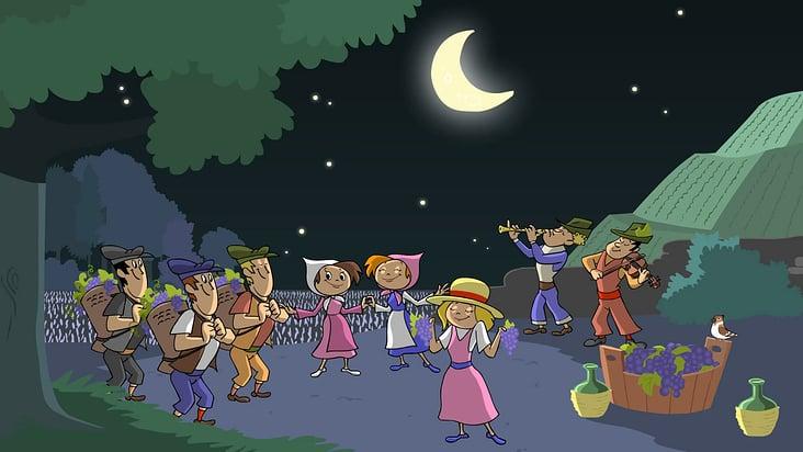 Sing Kinderlieder– Bunt sind schon die Wälder