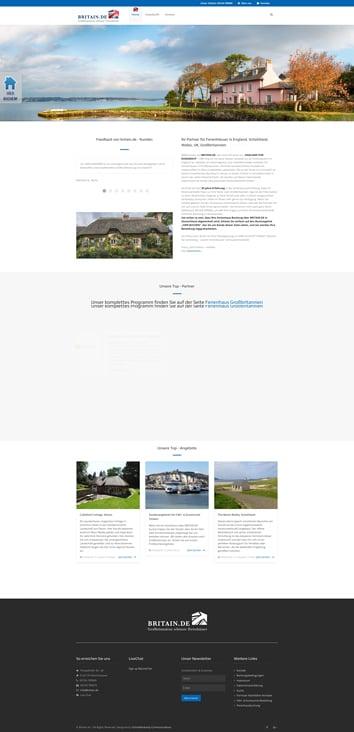 Britain.de Portal zur Buchung Cottages in GB