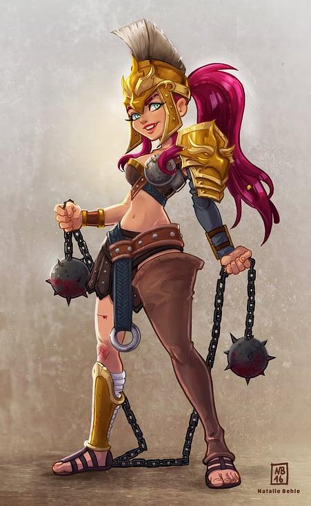 Gladiator Character Design