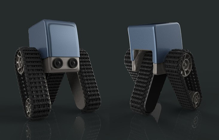 'Alpha Baby Bot' – Design