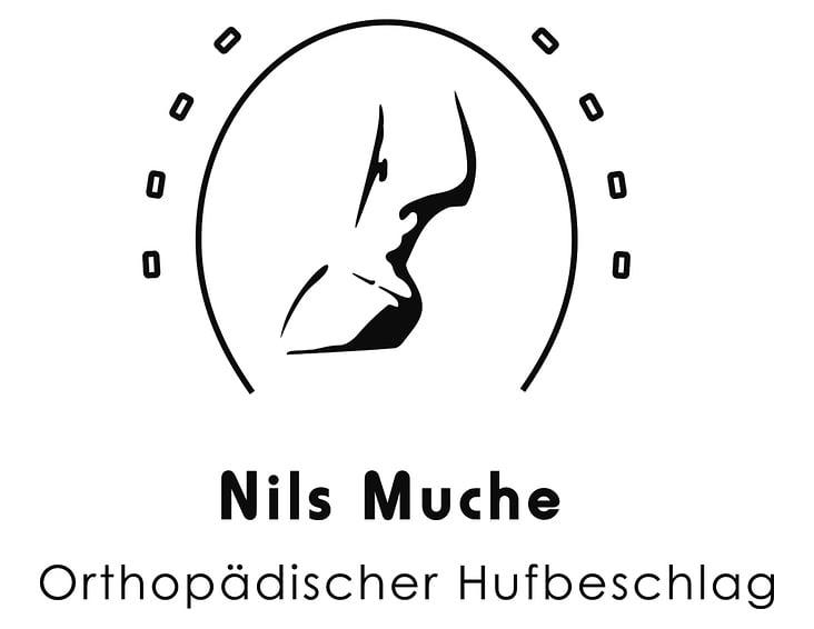 Logoentwicklung – Nils Muche / Orthopädischer Hufbeschlag