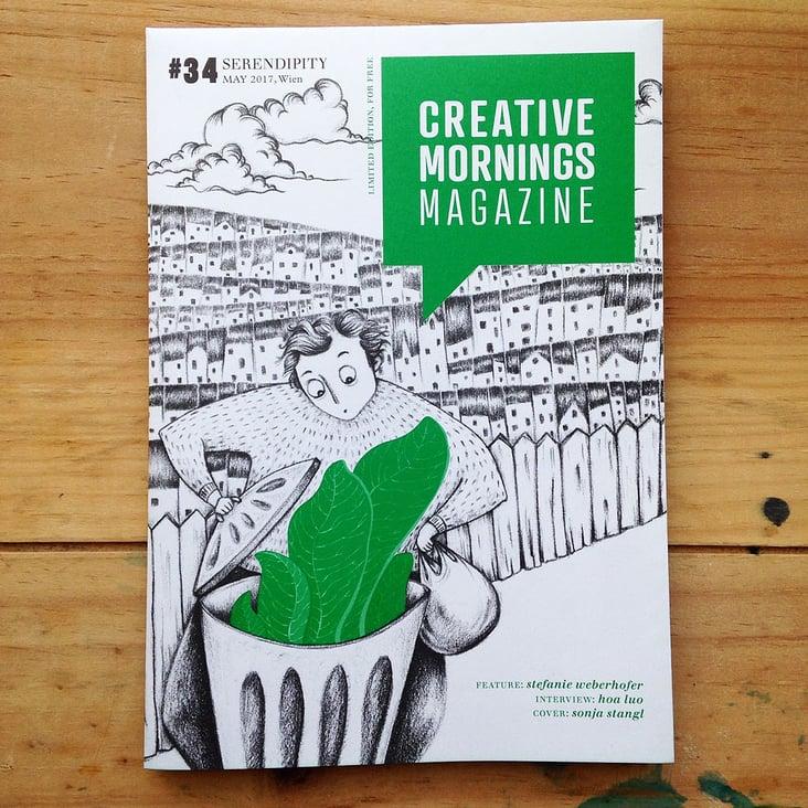 Serendipity– Creative Mornings Magazine Cover