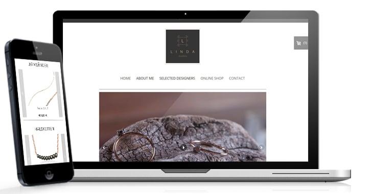 webshop jimdo