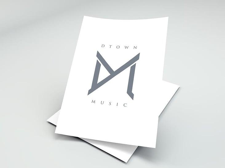 Logo Gestaltung– D-Town Music