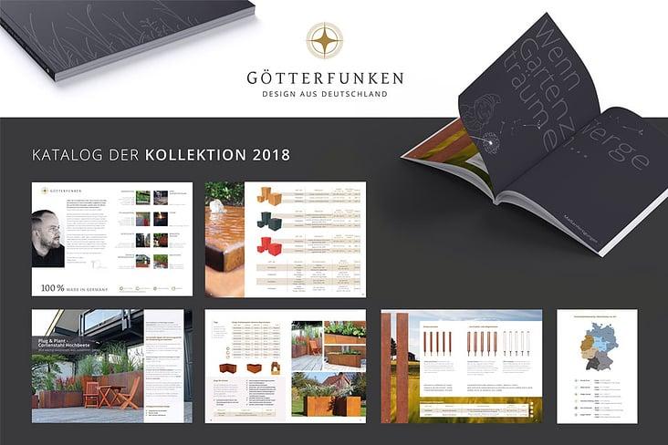 Produkt-Katalog der Götterfunken GmbH– Kollektion 2018